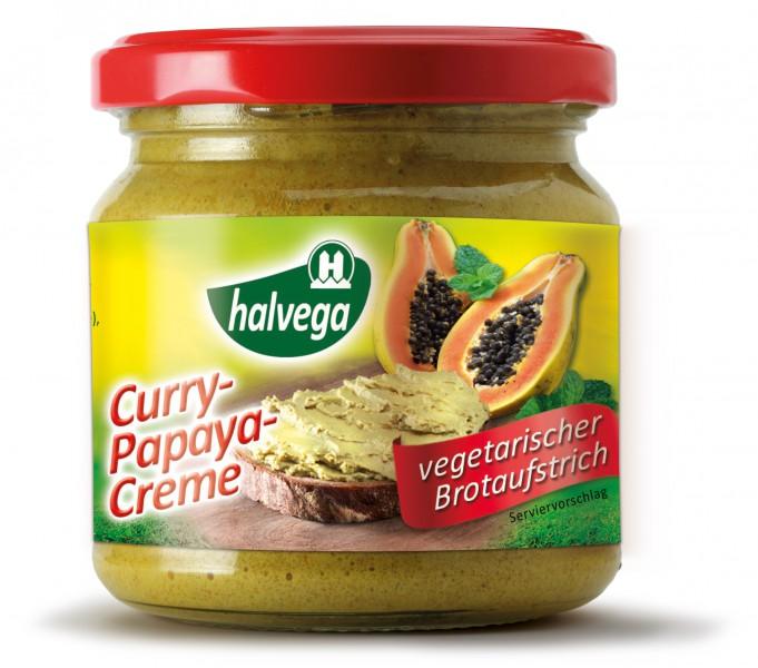 Curry-Papaya-Creme