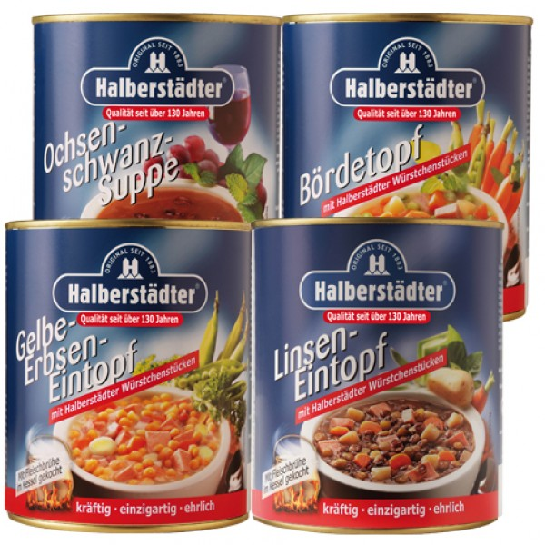 Paket 1: Halberstädter Suppenspezialitäten