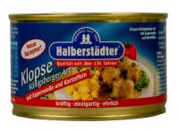 Klopse Königsberger Art mit Kapernsoße und Kartoffeln