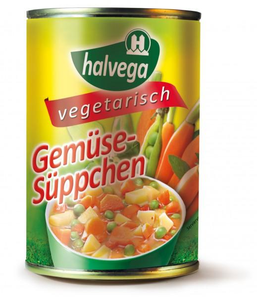 Gemüse-Süppchen