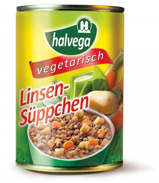 vegetarisches Linsen-Süppchen